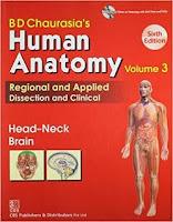 BD Chaurasiya Human Anatomy Volume 3 PDF (HEAD, NECK, AND BRAIN)
