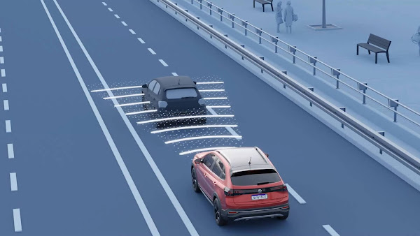 VW detalha o funcionamento do ACC do Nivus e Taos