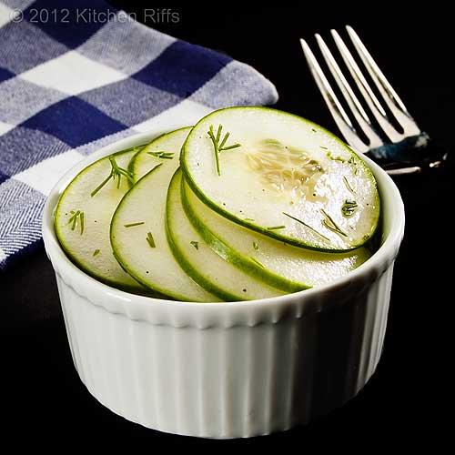 Hungarian Cucumbrer Salad