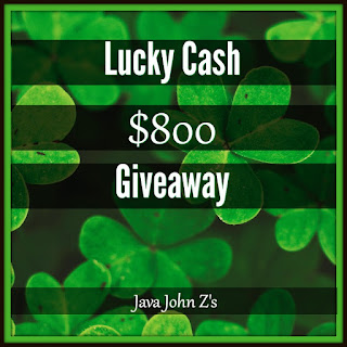 Enter the Lucky Cash $800 Giveaway. Ends 3/23 Open WW