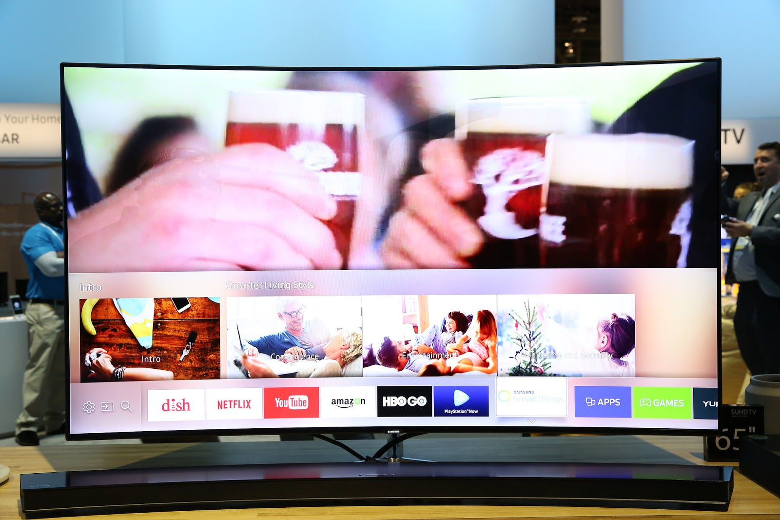 smart hub preview sekarang tersedia di tizen tv sdk 2 3 1. Black Bedroom Furniture Sets. Home Design Ideas