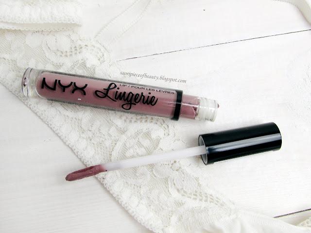 Жидкая матовая помада NYX LIP LINGERIE в оттенке Embellishment / Блог A piece of beauty
