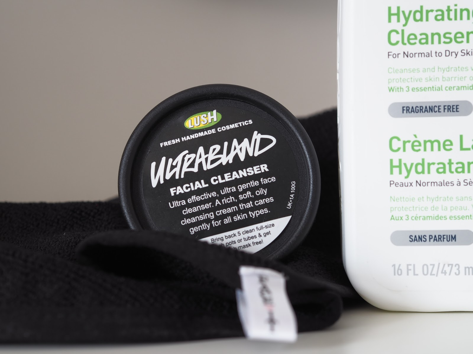 Lush ultrabland face cleanser