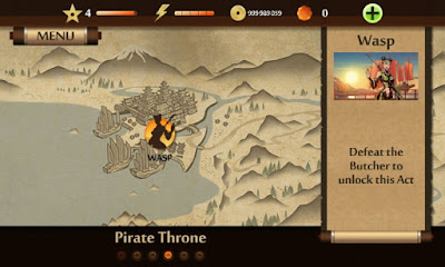 Pirate Throne Shadow Fight 2