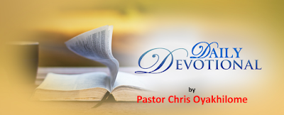 Receive Your Supply For Today by Pastor Chris Oyakhilome