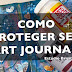 Como proteger seu Art Journaling (How to Protect Your Art Journaling)