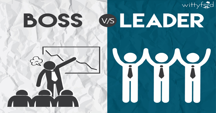 Boss VS Leader - All you need to know [Infographic]