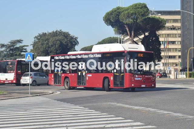 82 nuovi bus per Roma