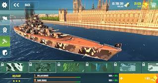 battle of warships mod apk unlimited gold