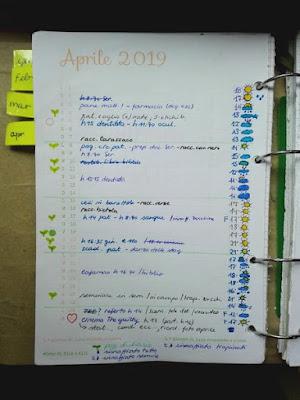 Aprile nell'orto di Elle e Alli: appunti agenda