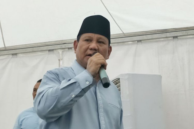 Prabowo ke Pendukungnya: Mau Naik Pesawat tapi Pilotnya Mabuk?