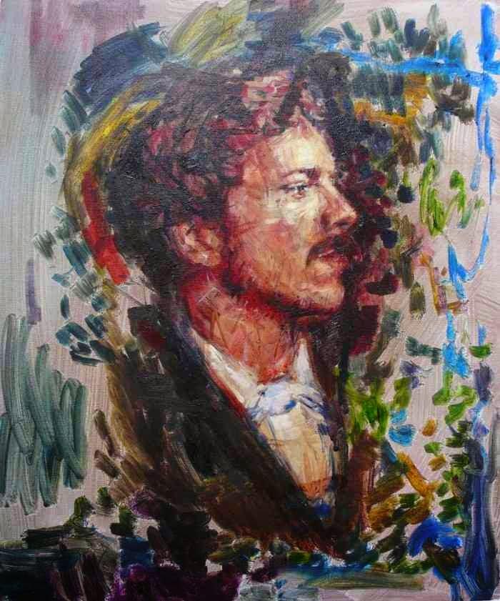 Британский художник. Liam Marc O'Connor