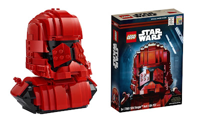 San Diego Comic-Con 2019 Exclusive Star Wars: The Rise of Skywalker Sith Trooper Bust LEGO Set
