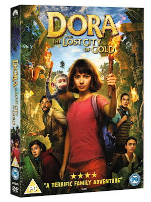 Dora and the City Of Gold DVD Review Giveaway Activity Sheets