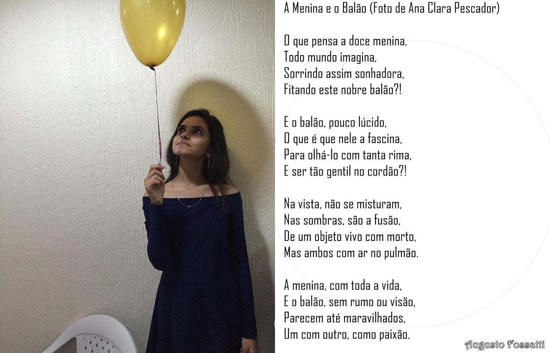 ELA É UM POEMA #3 - A MENINA E O BALÃO