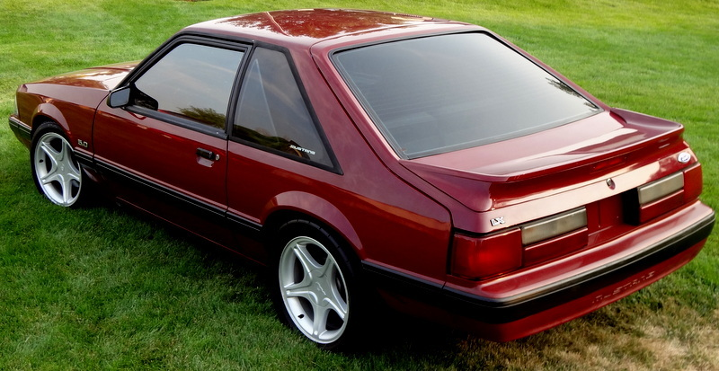 Daily Turismo: 5k: 1989 Ford Mustang LX 5 0