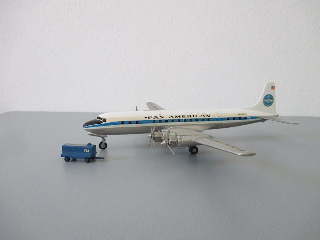 1/144 1/200 Douglas DC7 diecast metal aircraft miniature