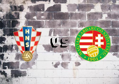 Croacia vs Hungría  Resumen