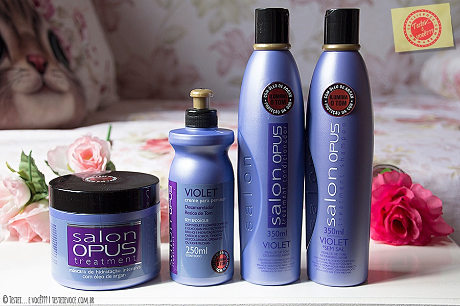 Linha Salon Treatment Violet – Salon Opus