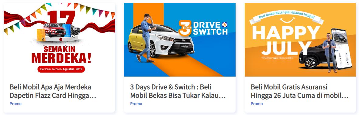 Kini Beli Mobil Bekas di mobil88 e-store Dapat Garansi Mesin & Jaminan Uang Kembali