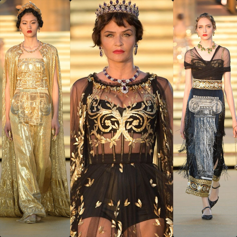 pretty nice 0727a 37474 RUNWAY MAGAZINE ®: Dolce & Gabbana Alta Moda and Alta ...