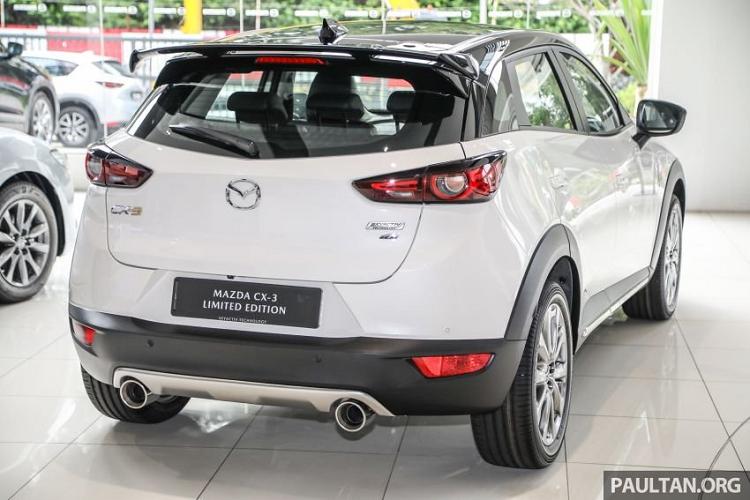 Mazda CX-3 Limited Edition hơn 760 triệu đồng tại Đông Nam Á