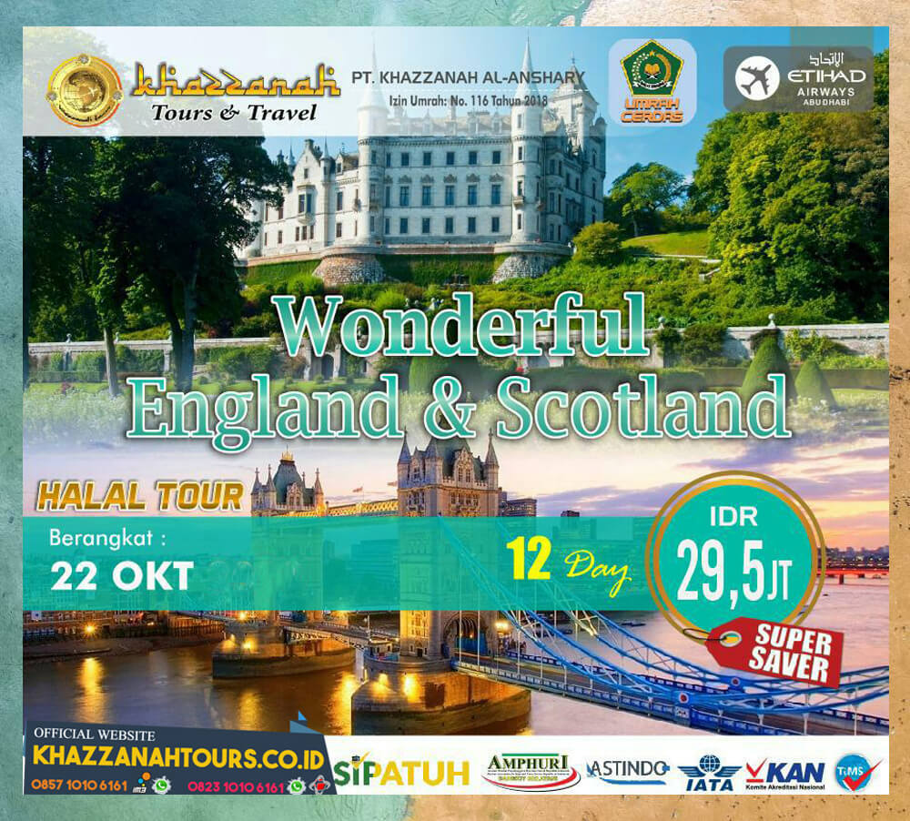 Wonderful England Scotland Tour