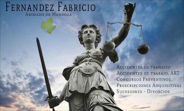 Dr. Fernandez Fabricio. Abogado de la provincia de Mendoza. Argentina