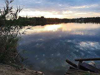 Донецкая обл. Лиманский район. Голубые озёра