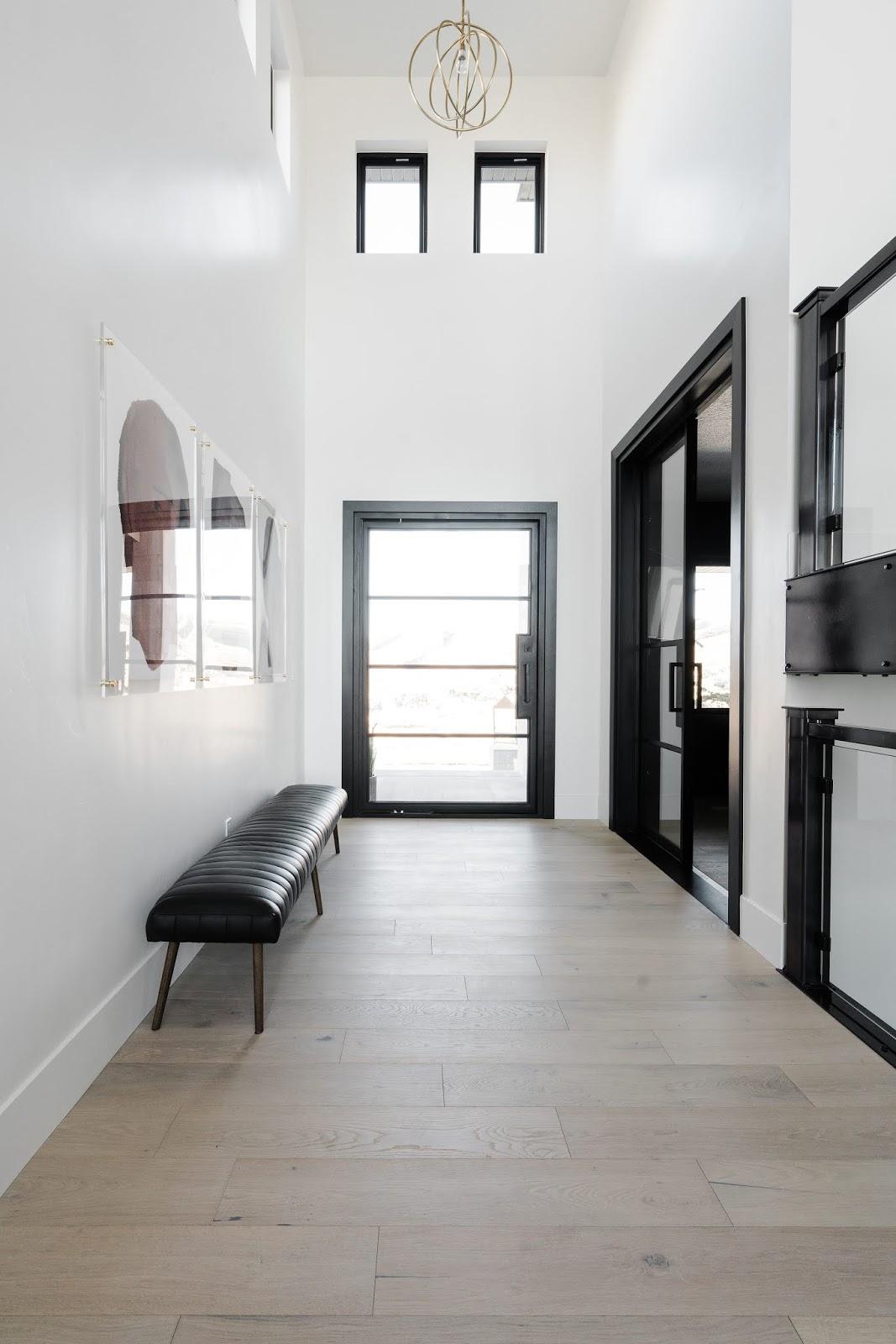 Entry Way, Industrial Entry Way, Modern Door