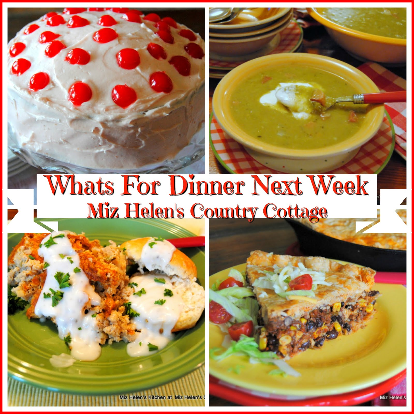 Whats For Dinner Next Week * Week of 2-17-19