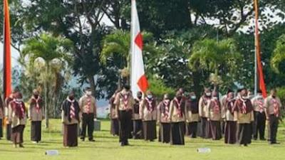 Peringatan 60 Tahun Gerakan Pramuka di Bukittinggi Berlangsung Khidmat