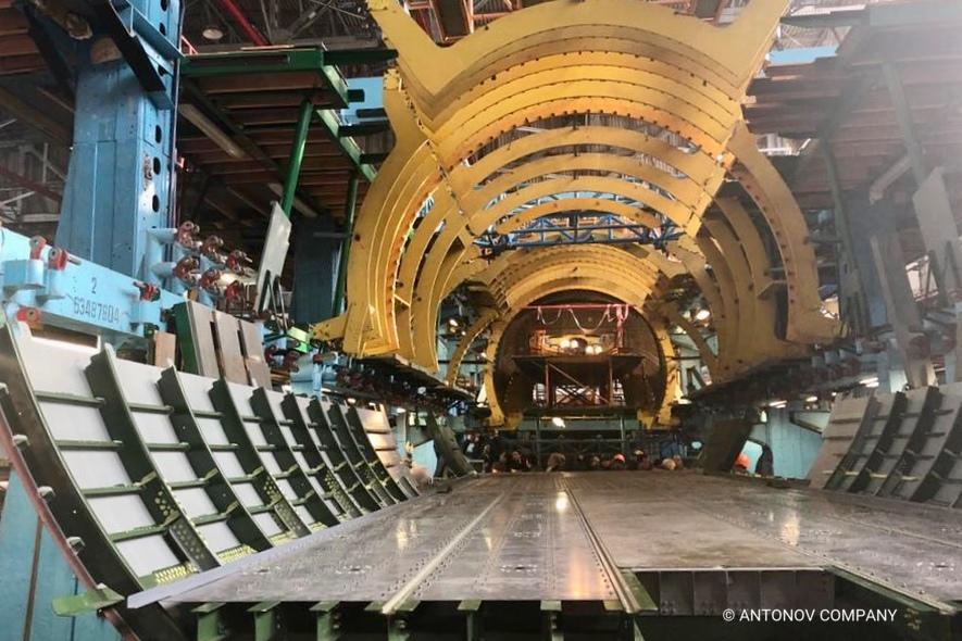 Antonov assembles An-78 aircraft for Peru