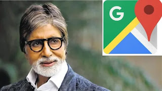 Amitabh bachchan to lend his vocie for google map in mumbai