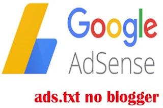 ads.txt. в Блоггере