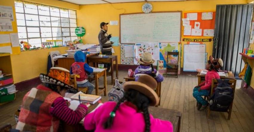 La deserción de docentes en zonas rurales de Arequipa se reduce a cero, gracias a calendario escolar diferenciado