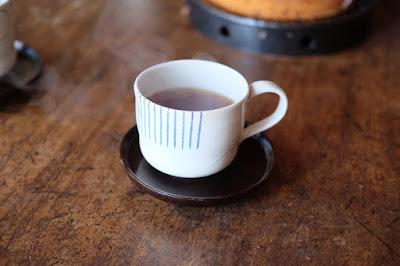 長野県生坂村の陶器・器 月日工房 コーヒーカップ