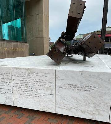 Baltimore's World Trade Center 9-11 Memorial in Maryland