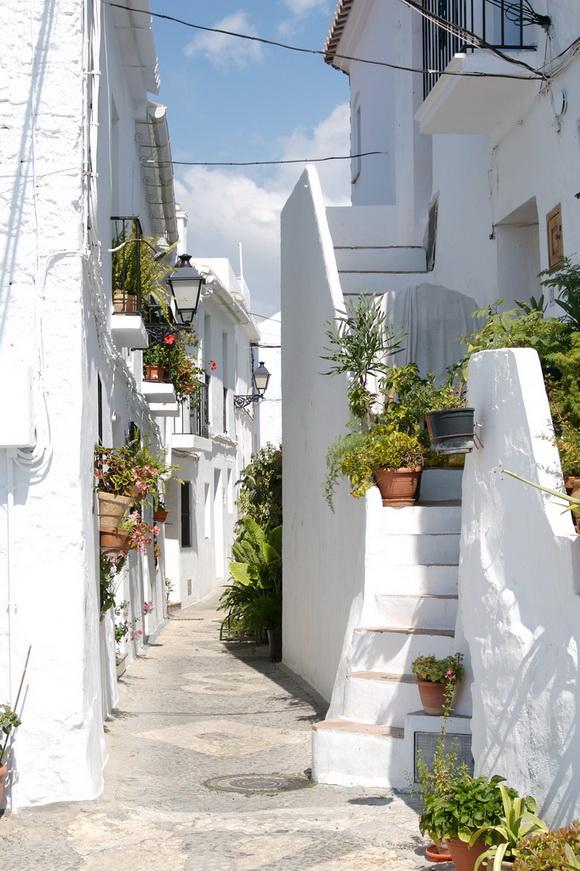 Street in Frigiliana, Spain