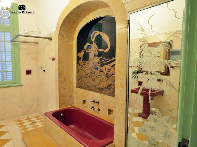 Palacete Violeta (Banheiro da Suíte do Noivo)