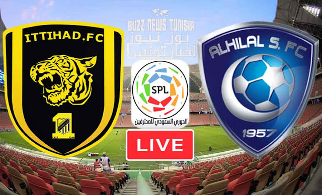 Match Al Hilal Saudi  vs Al Ittihad Saudi Live Stream InSaudi League