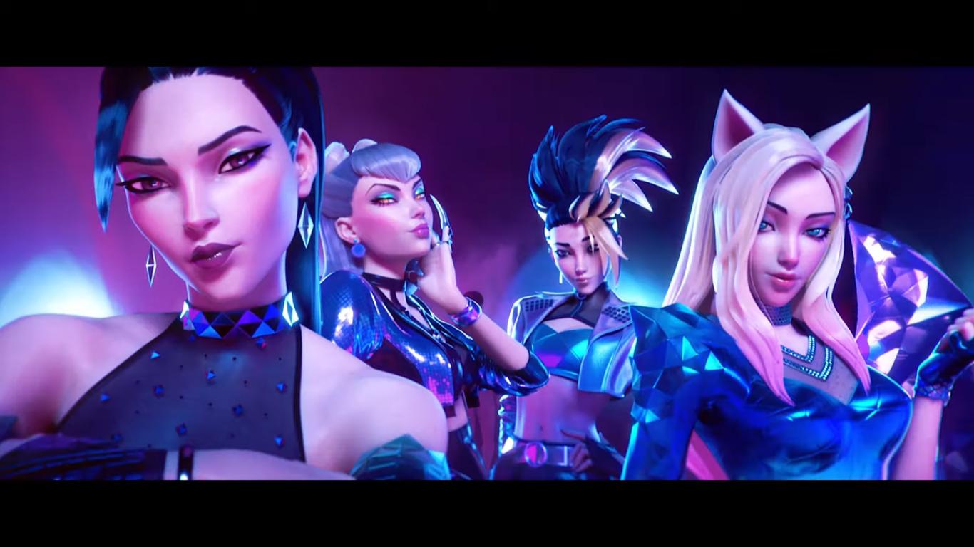 K/DA Looks Badass in Slick Animated MV of 'More'