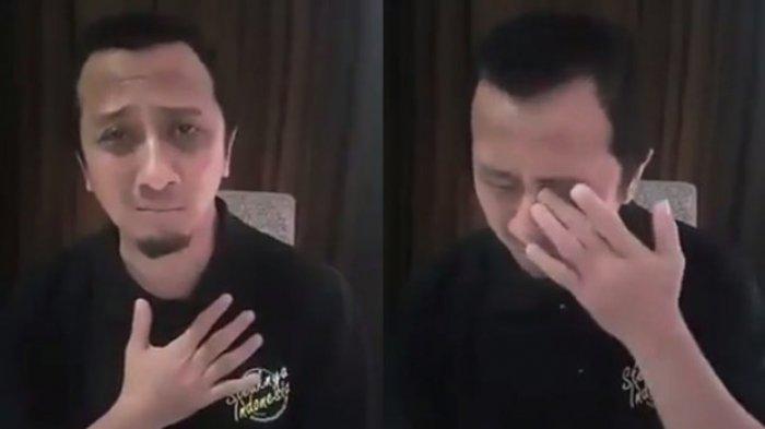 Pengakuan Ustaz Yusuf Soal Tangisan Onlinenya Saat Pilpres