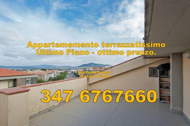 appartamento terrazzato Grosseto Via stati Uniti, appartamento vendita Grosseto Cittadella, sceso di prezzo.