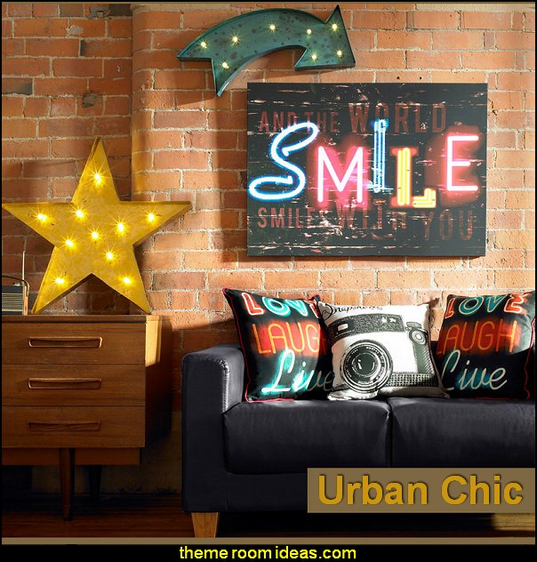 Urban theme bedroom ideas - urban bedrooms - Urban skater theme - Urban style decorating skateboarding theme