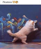 picatsso humor arte y gatos