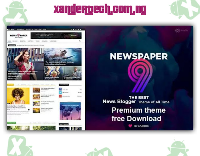 Download Newspaper 9 Blogger Template [Free]