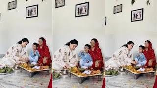 Kangana Ranaut's Mother Asha Ranaut did mahamritunjay Mantra jaap For her safety