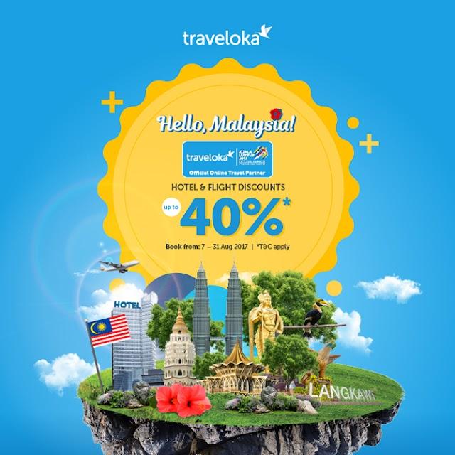 Promosi Traveloka KL2017 Sempena Sukan SEA