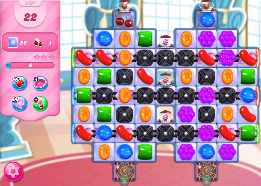 Candy Crush Saga level 3131